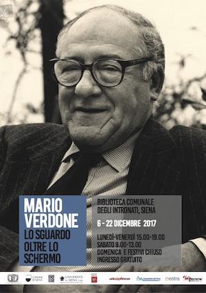 Mario Verdone Lo sguardo oltre lo schermo