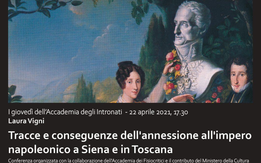 Tracce e conseguenze della dominazione napoleonica nel Dipartimento dell'Ombrone e in Italia