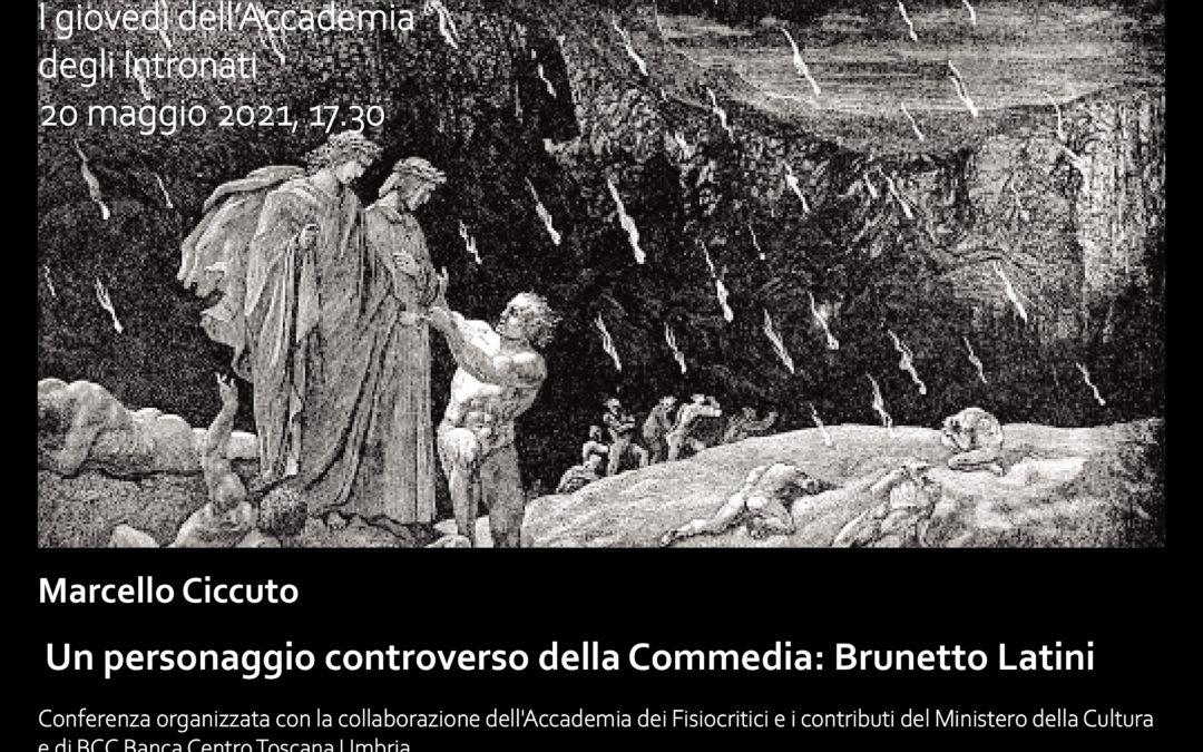 Quarta conferenza su Dante: Un personaggio controverso della Commedia, Brunetto Latini