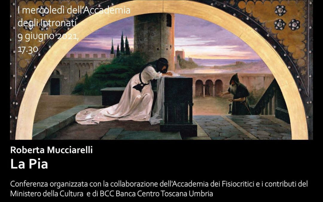 """Conferenza dantesca di Roberta Mucciarelli su """" La Pia"""""""
